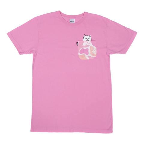 Футболка RIPNDIP Lord Nermal Camo Pocket (Pink Camo)