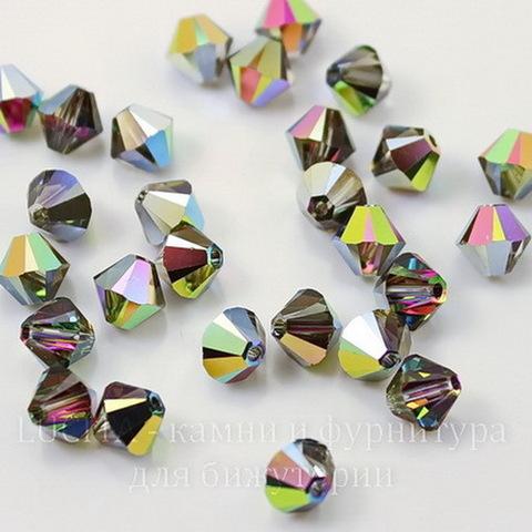 5328 Бусина - биконус Сваровски Crystal Vitrail Medium  4 мм, 10 штук (large_import_files_f6_f6f8b874874e11e3bb78001e676f3543_00991c9fe9fa4ad1a016108f9891e3ce)