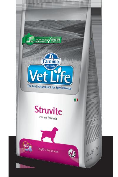 Сухой корм Корм для собак, FARMINA Vet Life STRUVITE, лечение и профилактика МКБ, струвитных уролитов farmina-vet-life-canine-struvite_web.png