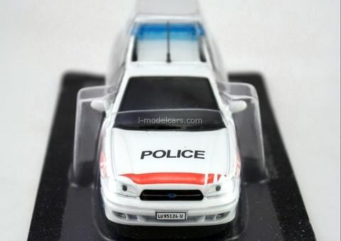 Subaru Legacy Police Switzerland 1:43 DeAgostini World's Police Car #58