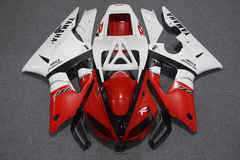 Комплект пластика для мотоцикла Yamaha YZF-R1 98-99 Красно-Белый