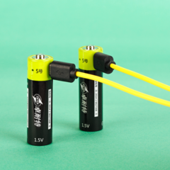 Батарейки-аккумуляторы AA с USB
