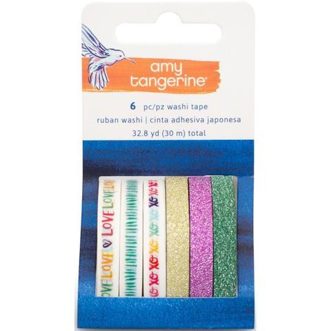 Набор скотчей  washi tape из коллекции Amy Tan Better Together