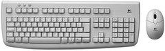LOGITECH Deluxe 650 Cordless Desktop White UKR OEM