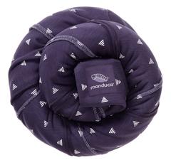 Трикотажный слинг-шарф manduca LimitedEdition PurpleDarts