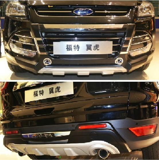 Накладки на бампера, обвес, Tuning Style №2 для Ford Kuga 2012 - 2016 led 2012 2015 kuga day light kuga fog light kuga headlight transit explorer topaz edge taurus fusion kuga taillight
