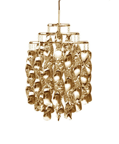 replica Verner Panton  Spiral pendant lamp (gold)