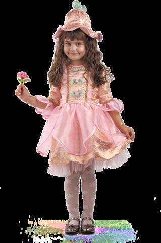 Карнавальный костюм детский Дюймовочка