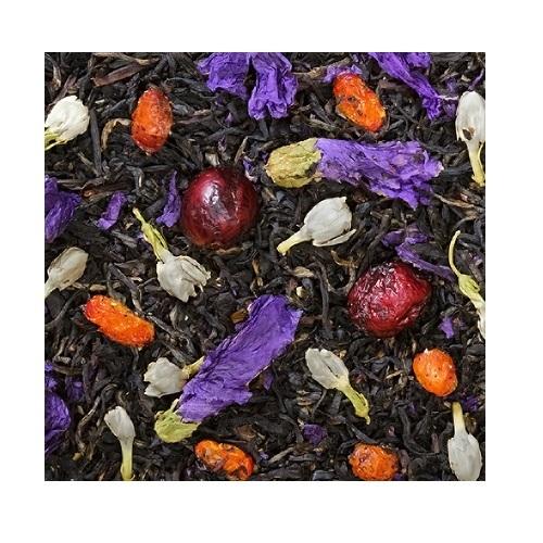 Черный ароматизированный чай Ожерелье королевы 1кг