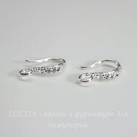 Швензы - крючки 13 мм (цвет - серебро)