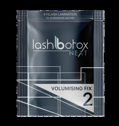 Состав для ламинирования №2 LASH BOTOX NEXT VOLUMISING FIX