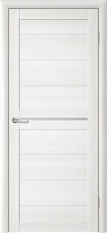 Дверь TrendDoors TDT-6, стекло белое матовое, цвет лиственница белая, остекленная