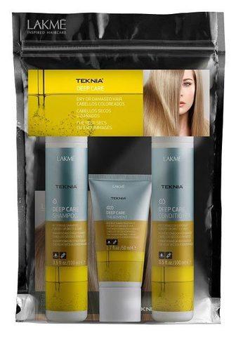 Набор Lakme Teknia Deep Care для ухода за волосами