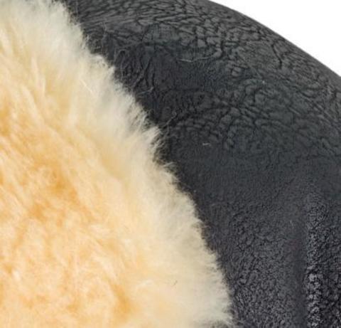 Муфта-рукавички для коляски Esspero Double Leatherette (Натуральная шерсть)