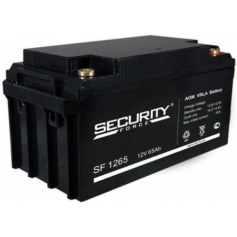 SF 1265 аккумулятор 12В/65Ач Security Force