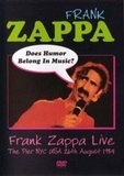Frank Zappa / Does Humor Belong In Music? (DVD)