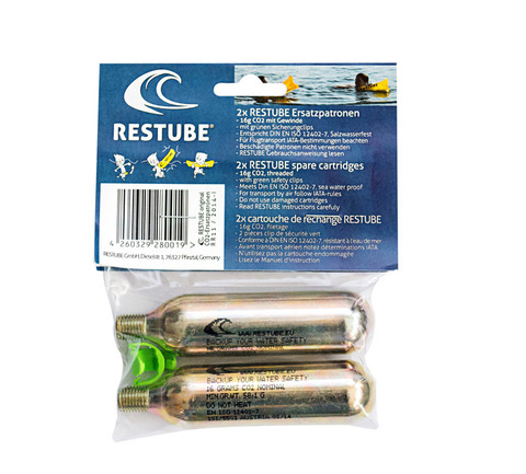 Restube Spare cartridges (2x)