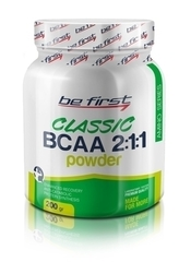 Be First BCAA 2:1:1 classic powder 200 гр (яблоко)