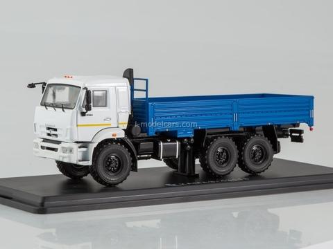 KAMAZ-43118 6x6 flatbed truck blue 1:43 Start Scale Models (SSM)