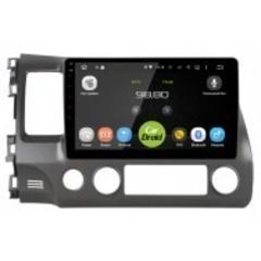 Штатная магнитола на Android 6.0 для Honda Civic 8 Roximo CarDroid RD-1911F