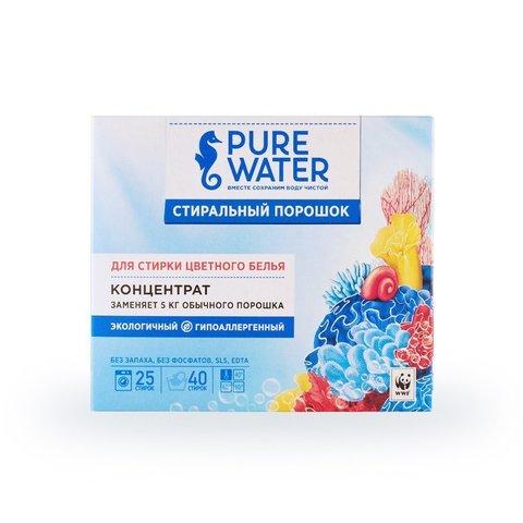 Стиральный порошок для цветного белья 800 г (Pure Water)