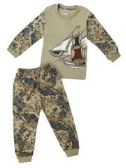 3986 пижама детская, хаки