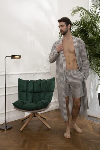 Мужской облегченный халат 61336  Laete Турция