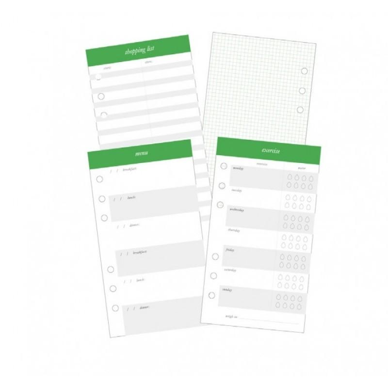 Внутренний блок Heidi Swapp Memory Planner Listbook - Fresh Start, Food