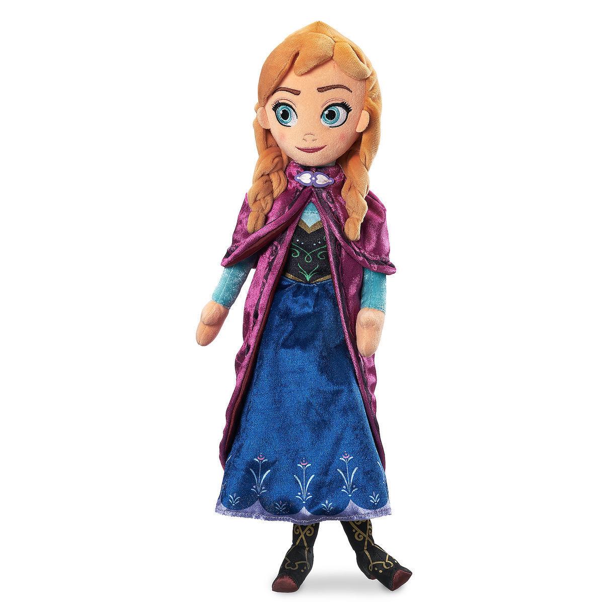 Мягкая кукла Анна «Холодное сердце» Дисней 46 см