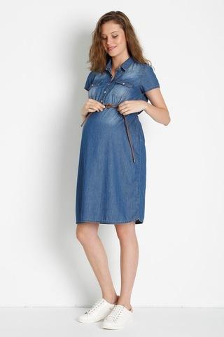 Платье 08465 синий