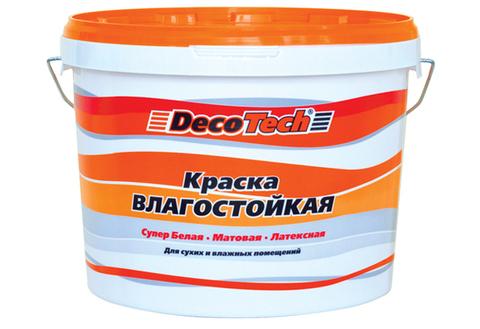 DecoTech/Декотек Краска ВЛАГОСТОЙКАЯ
