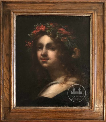 Florentine School, 17th Century, Portrait of a girl