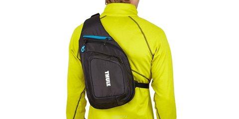 Рюкзак-слинг на плечо для экшн-камер Thule Legend вид сзади