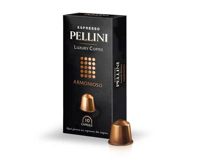 Кофе в капсулах Pellini Armonioso, 10 капсул (Пеллини)