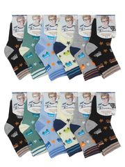 8302 носки детские (12 шт), цветные