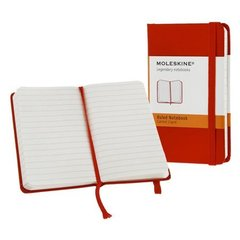 Moleskine Red Extra Small Ruled Notebook