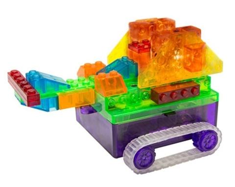 Конструктор Laser Pegs «Танк с цветными деталями» (RN 1330B)