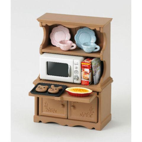 """Набор """"Буфет с микроволновой печью"""" Sylvanian families 5023 (3561)"""