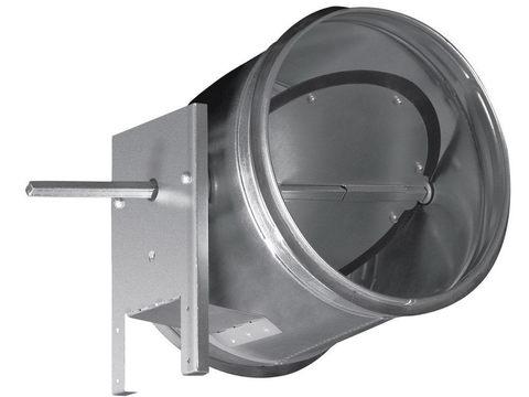 Дроссель-клапан под электропривод ZSK 100 мм