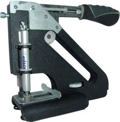 Пресс для установки люверсов Grafalex AL с насадкой на 12 мм, пробивка штоком
