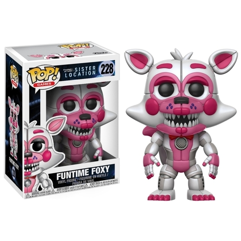 FUNKO-POP! GAMES: FIVE NIGHTS AT FREDDYS: SISTER LOCATION-FUNTIME FOXY