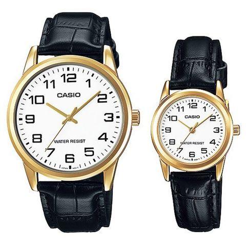 Купить Парные часы Casio Standard: MTP-V001GL-7BUDF и LTP-V001GL-7BUDF по доступной цене