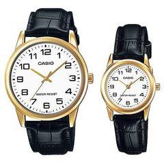 Парные часы Casio Standard: MTP-V001GL-7BUDF и LTP-V001GL-7BUDF