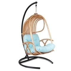 Подвесное кресло из натурального ротанга Hole Swing