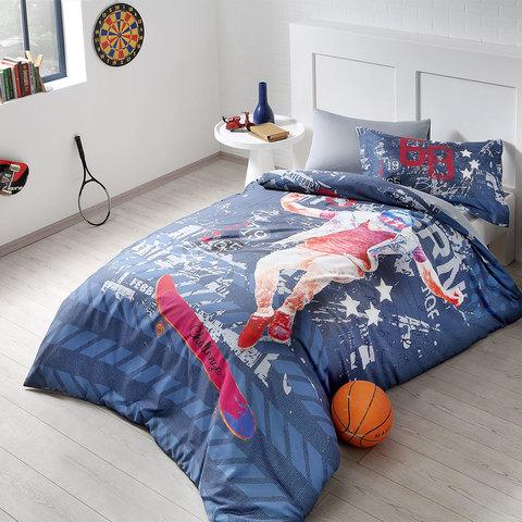 Детское постельное белье SKATER  1.5сп  deluxe TIVOLYO HOME Турция