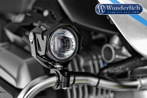 Комплект доп.света ATON на дуги BMW K 1600 GT/GTL - серебро