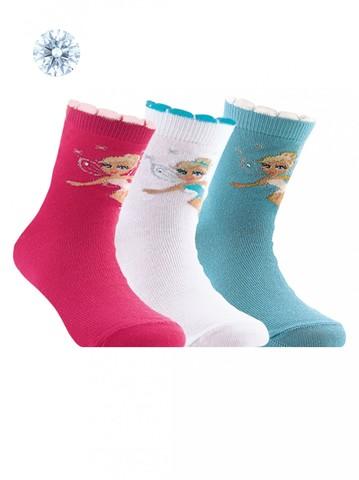 Детские носки Tip-Top 7С-45СП (со стразами и люрексом) рис. 088 Conte Kids