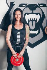 Женские шорты Nebbia Transparent stripes shorts 651 black