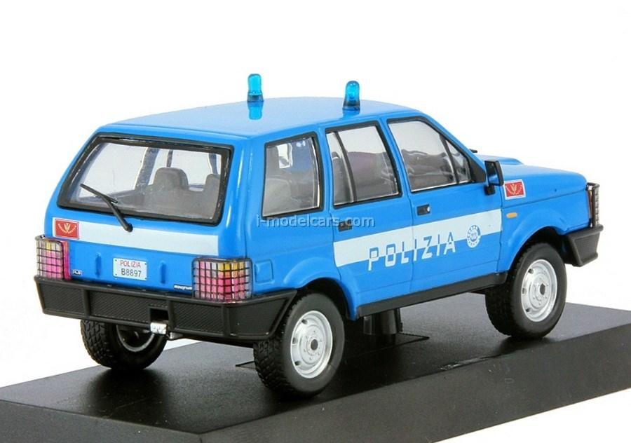 Rayton Fissore Magnum 2,5 TDI Italian Police 1:43 DeAgostini World's Police Car Special edition #2