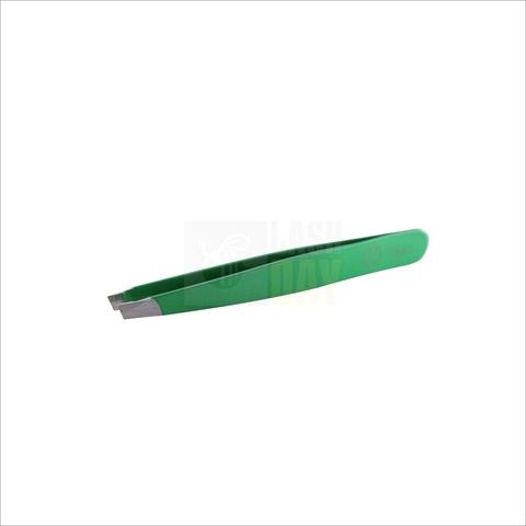 Flario - Пинцет для бровей зеленый